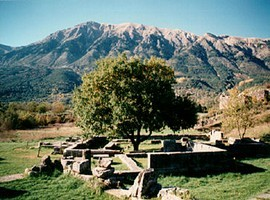 the location of ancient oracle of dodona greeceme